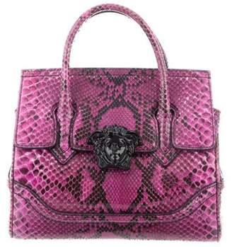 e118f016fc Versace Python Palazzo Empire Bag