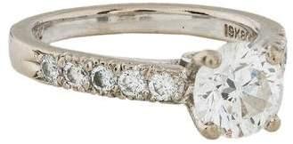 Scott Kay 19K Diamond Engagement Ring