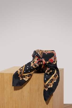 Dolce & Gabbana Heart silk scarf