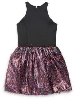 Zoe Girl's Roxi-Neo Flutter Dress