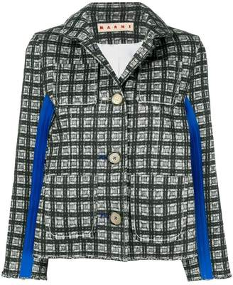 Marni printed buttoned jacket