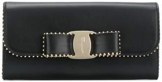 Salvatore Ferragamo Vara Bow continental wallet