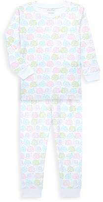 Kissy Kissy Little Girl's Two-Piece Printed Elephant Pajama Set