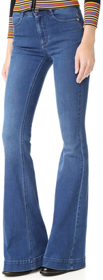 Stella McCartney Flare Jeans $375 thestylecure.com