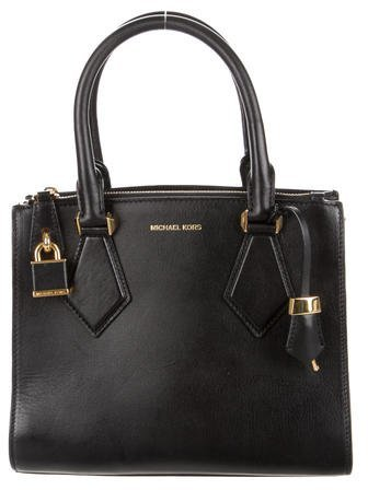 Michael Kors Casey Leather Satchel
