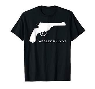 Webley UK Army WWI WWII Service Revolver TShirt