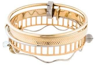 Christian Dior Connecting Bangle Set
