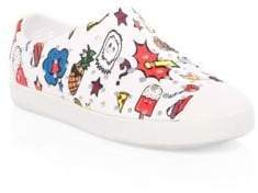 Native Kid's Jefferson Print Slip-On Sneakers