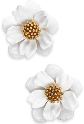Kate Spade Gold-Tone Flower Stud Earrings