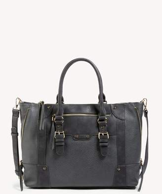 Sole Society Susan Vegan Large Winged Tote