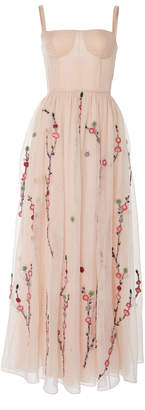 ADAM by Adam Lippes Silk Organza Bustier Gown