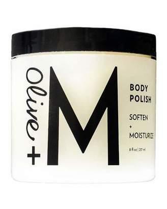 Olive + M Body Polish, 8 oz./ 237 mL