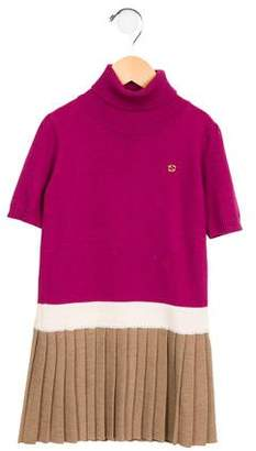 Gucci Girls' Wool Sweater Dress