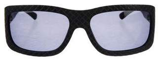 Bottega Veneta Tinted Patterned Sunglasses