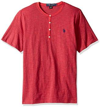 U.S. Polo Assn. Men's Solid Short Sleeve Henley Classic Fit T-Shirt