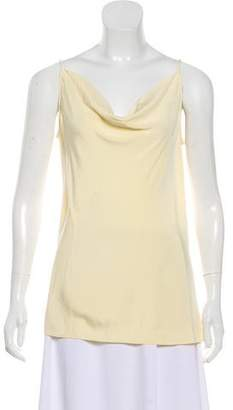 Derek Lam Sleeveless Cowl Neck Top