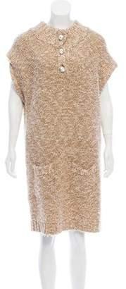 Leroy Veronique Knee-Length Wool Dress
