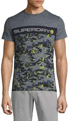 Superdry Camouflage Cotton Blend Tee