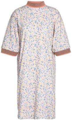 Acne Studios Printed Cotton Mini Dress