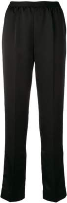 Maison Margiela high waist straight-leg trousers