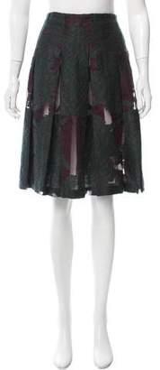 Proenza Schouler Paneled Knee-Length Skirt