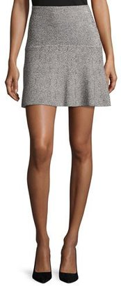 Theory Gida KM Prosecco Knit Miniskirt, Multicolor $255 thestylecure.com
