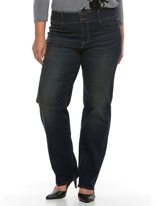 Apt. 9 Plus Size Straight Leg Jean