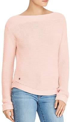 Lauren Ralph Lauren Boat Neck Ribbed Sweater