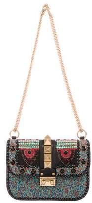 Valentino Medium Beaded Glam Rock Bag w/ Tags
