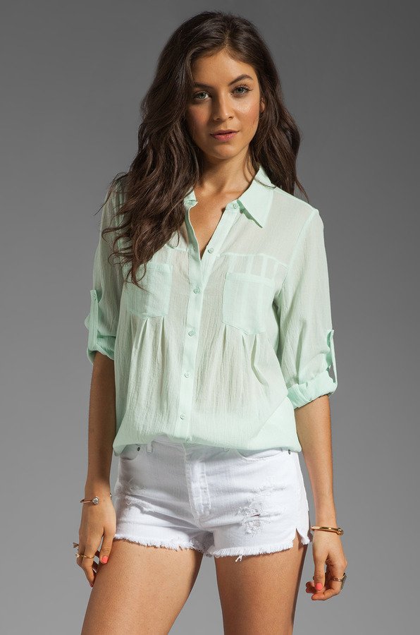 Joie Pinot Button Up