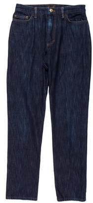 Loro Piana Cropped Mid-Rise Jeans