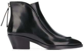 Jil Sander pointed ankle boots