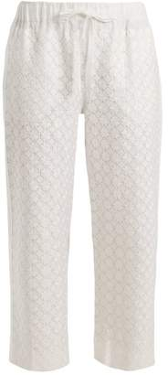 Vita Kin - Strawberry Field Linen Trousers - Womens - White