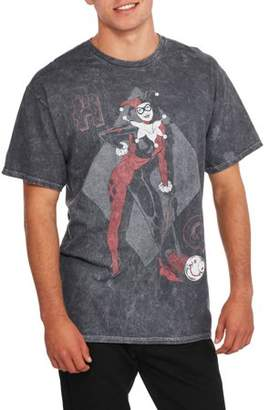Super Heroes & Villains Classic Harley With Hammer Big Men's Graphic T-shirt