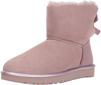 UGG Women's Mini Bailey Boii Metallic Fashion Sneaker
