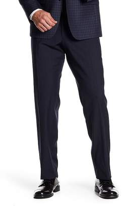 JB Britches Cross Weave Trim Fit Wool Trousers