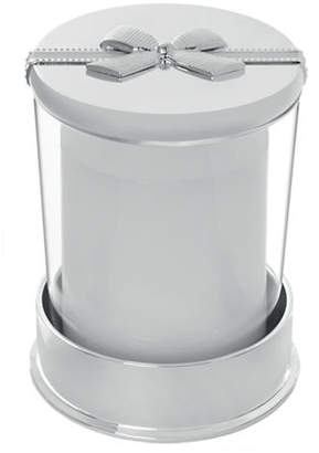 Vera Wang Infinity Covered Candle on Base