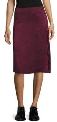 Public School Sana Silk Fitted Skirt