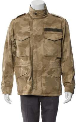 Moncler Reversible Camouflage Field Jacket tan Reversible Camouflage Field Jacket