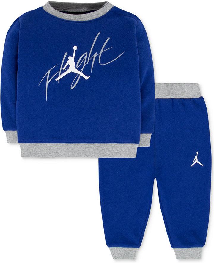 Jordan Baby Boys' 2-Pc. Sweatshirt & Pants Set