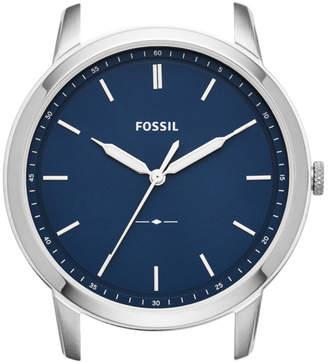 Fossil The Minimalist Slim Three-Hand Blue Watch Case