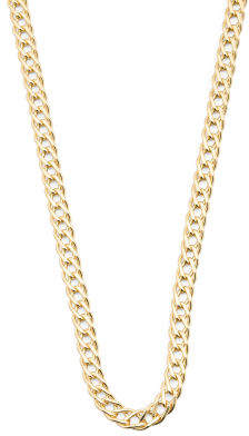 Men's Made In Italy 14k Gold Grande Marquise Necklace