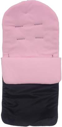 O Baby For Your Little One Footmuff/Cosy Toes Compatible with Obaby Atlas Chase Zezu Tour Monty Twin Pram Light Pink