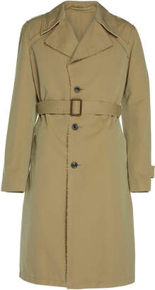 Maison Margiela Tonic Belted Cotton-Gabardine Trench Coat