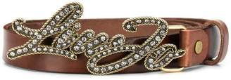 Liu Jo embellished buckle belt