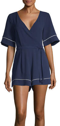 058090873e99 Trixxi Short Sleeve Romper-Juniors