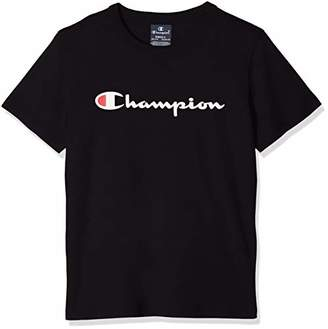 Champion Boy's Crewneck T-Shirt,(Manufacturer Size: XX-Small)