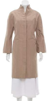 Ralph Rucci Knee-Length Bell Coat