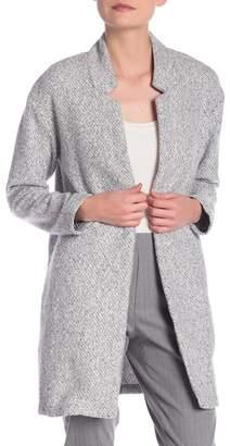 ABS by Allen Schwartz ESSENTIALS BY Open Front Sweater Jacket