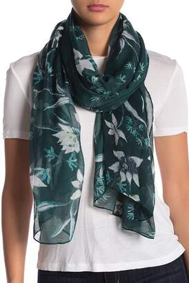 14th & Union Climbing Floral Scarf